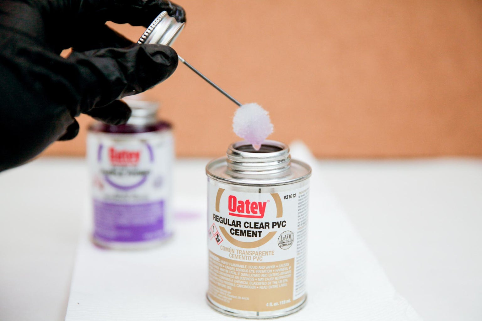 Gluing and Fastening PVC