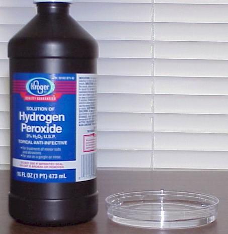 Distill Hydrogen Peroxide