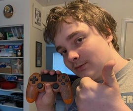 Painting and Rebuilding a Ps4 Controller