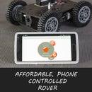 Affordable Phone Controlled Rover