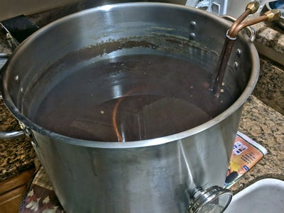 Chilling the Wort