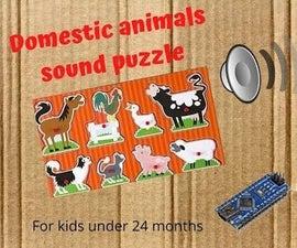 Animals Sound Puzzle for Kids