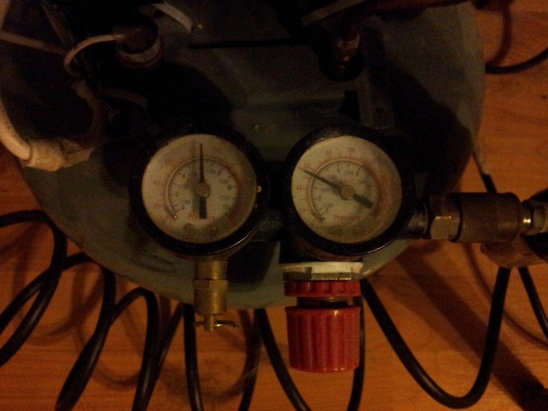 Setting Your Air Eraser/Compressor