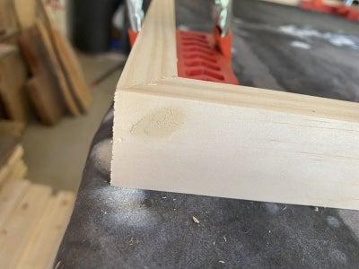 Glue to Frame Pieces Together