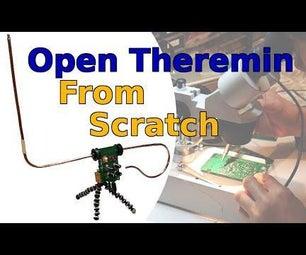 从头开始打开特雷门:从开源计划构建PCB