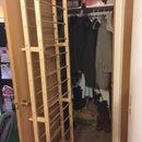 Behind the Door Shoe Rack