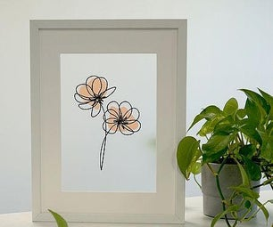 Abstract Flower Decoration