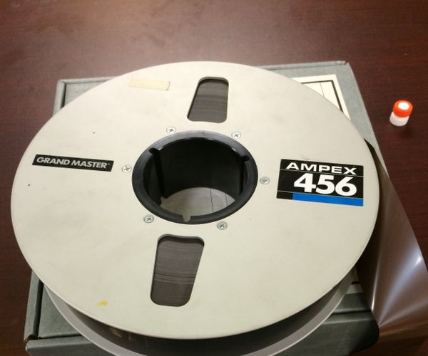 Quickly Removing Magnetic Tape From Reels