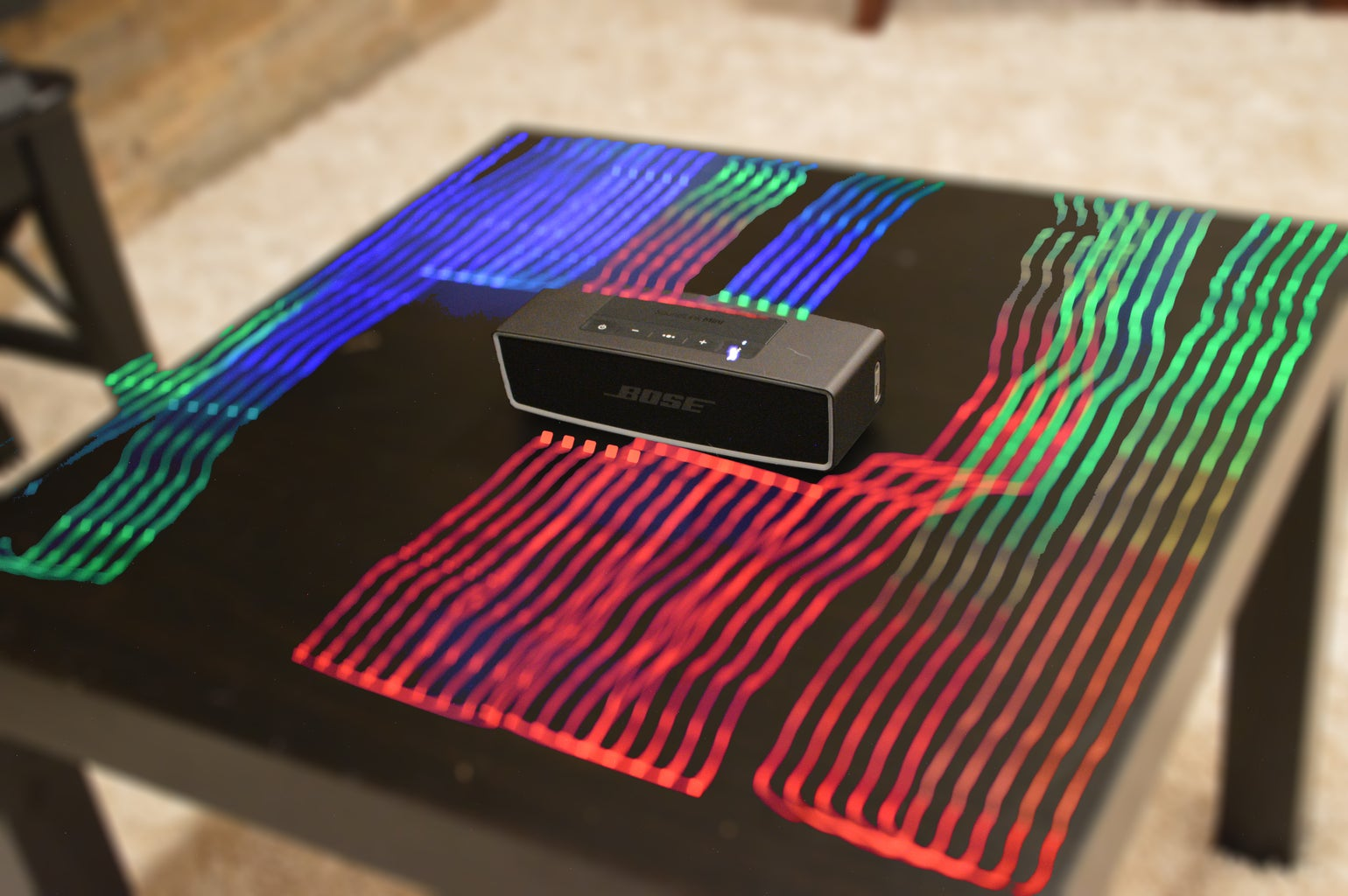 Visualize Bluetooth in a Long Exposure Photo