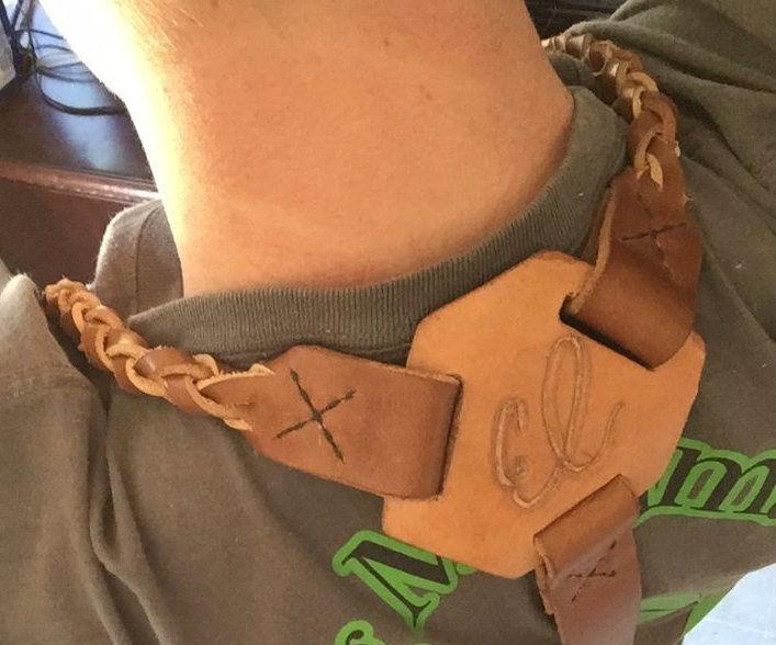 Flawed Leather Suspenders