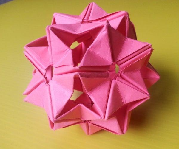 Modular Origami Unit Based on the Triangle Box