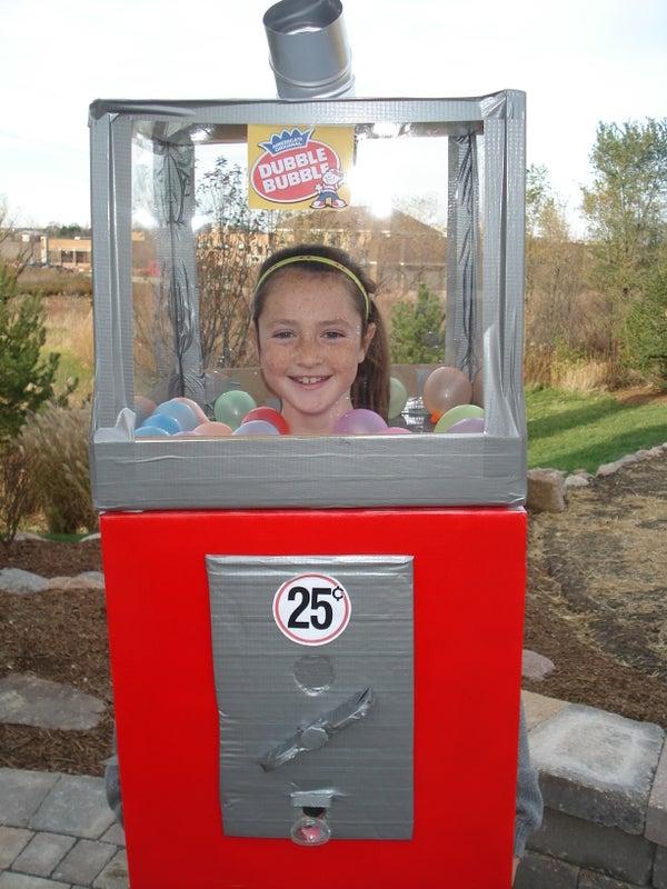 Homemade Bubble Gum Machine That Works!