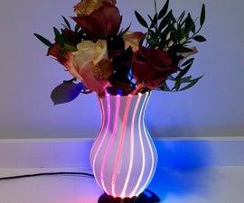 The Neopixel LED Vase