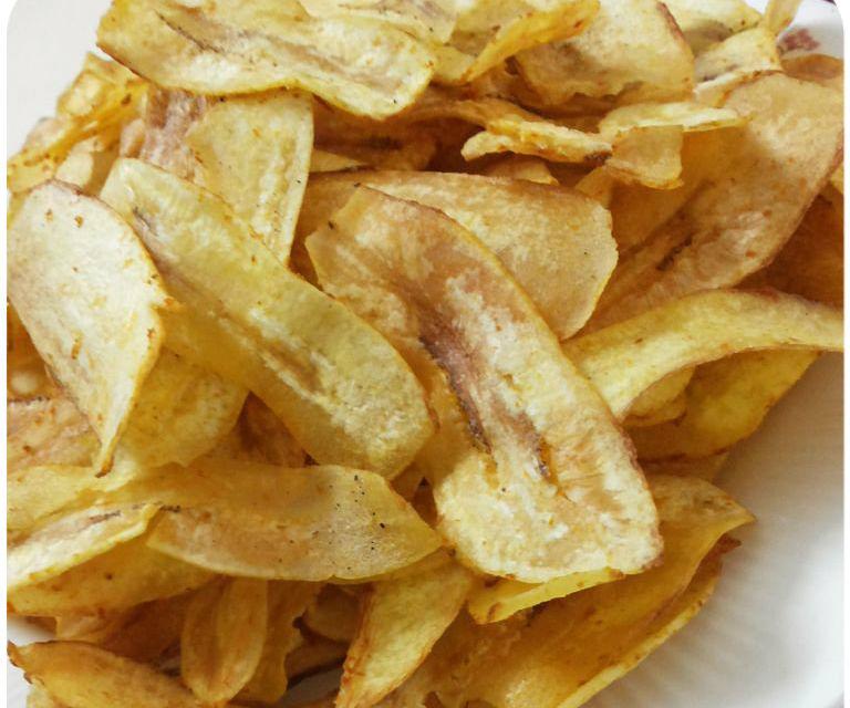 Banana chipsticks