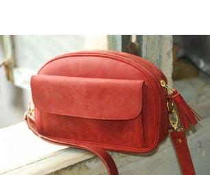 Leather Lady Shoulder Bag