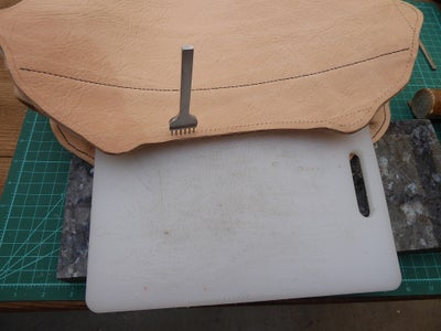 Marking and Punching the Stitch Lines