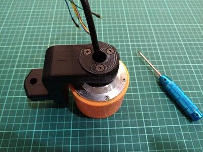 Assemble Motor Mount With3pcs M4 X 25mm Screws