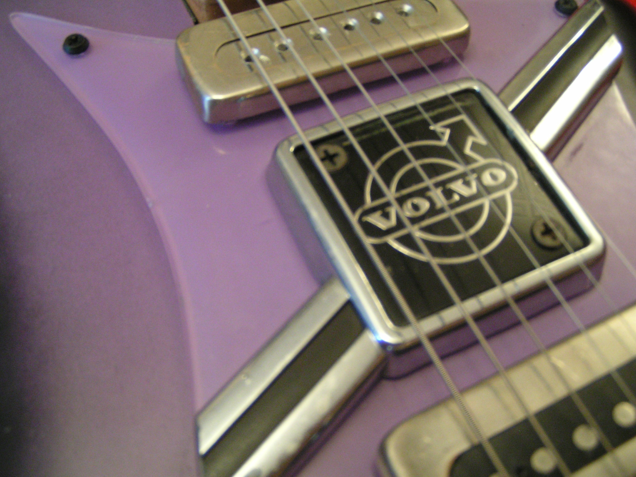 VOLVO guitar project