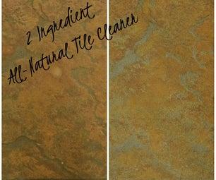 2 Ingredient All-Natural Tile Cleaner