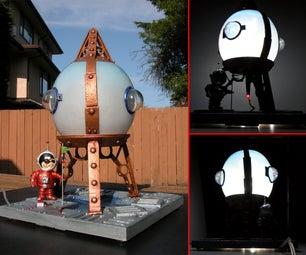 Retro-Rocket Lamp - Intro