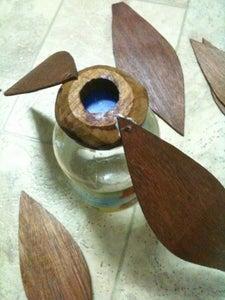 Flux Lamp/ Petal Shade