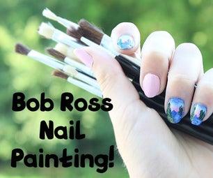 Bob Ross Nails