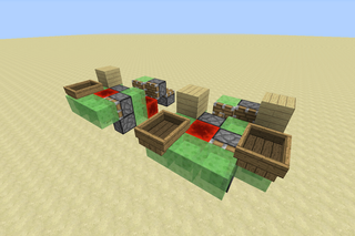 Minecraft Flying Machines 7 Steps With Pictures Instructables