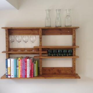 Pallet Shelves.  No Big Tools
