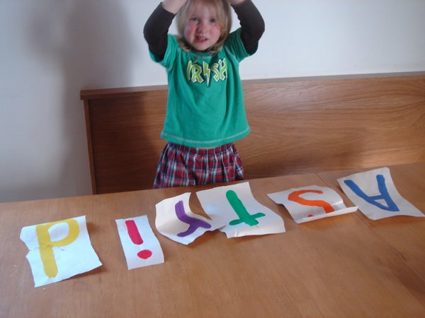 How to Get Your Two Year Old to Spell Her Name Before She Turns Three