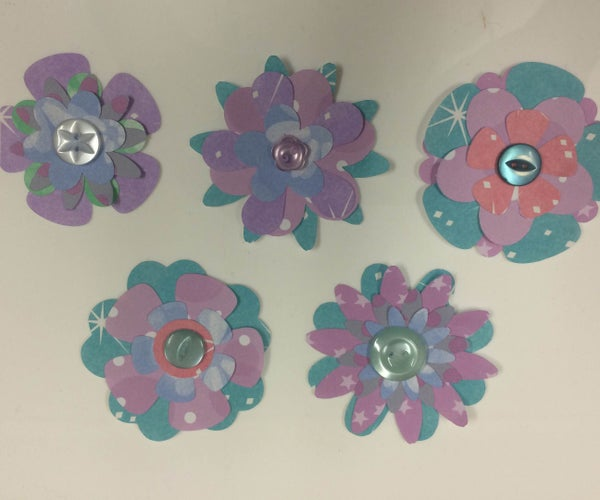 Layered Flower Embellisments
