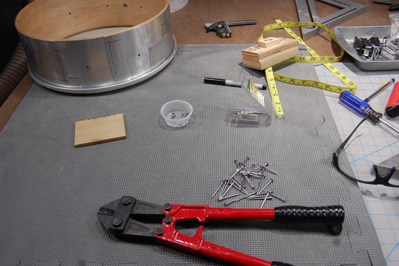 Cutting Faux Rivets