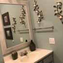 DIY Frame Bathroom Mirrror