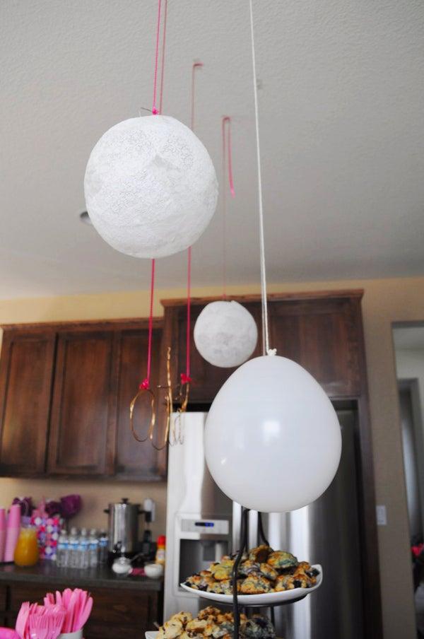 Lace Balloon Papier-mache