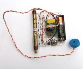Working Geiger Counter W/ Minimal Parts