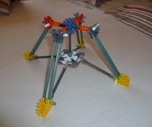 K'nex Quadpod(foldable!)