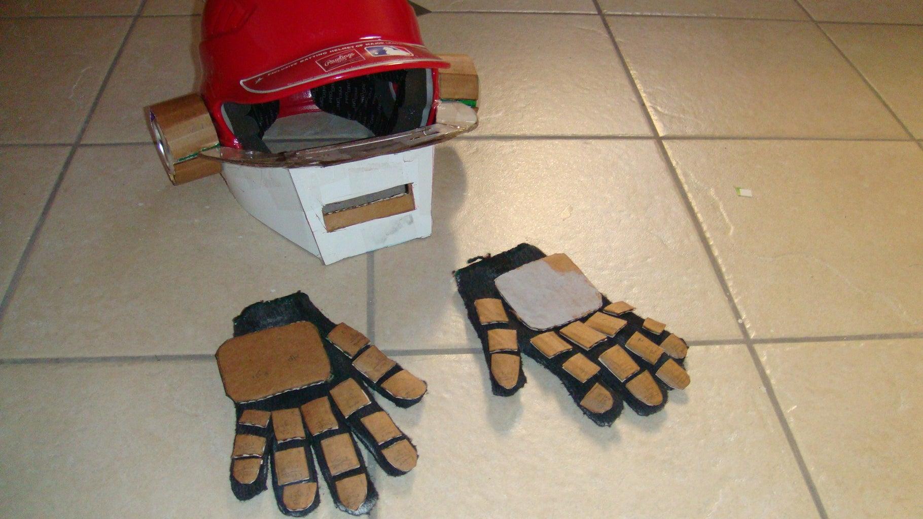 Daft Punk Helmet Build(Not Finished Yet!)
