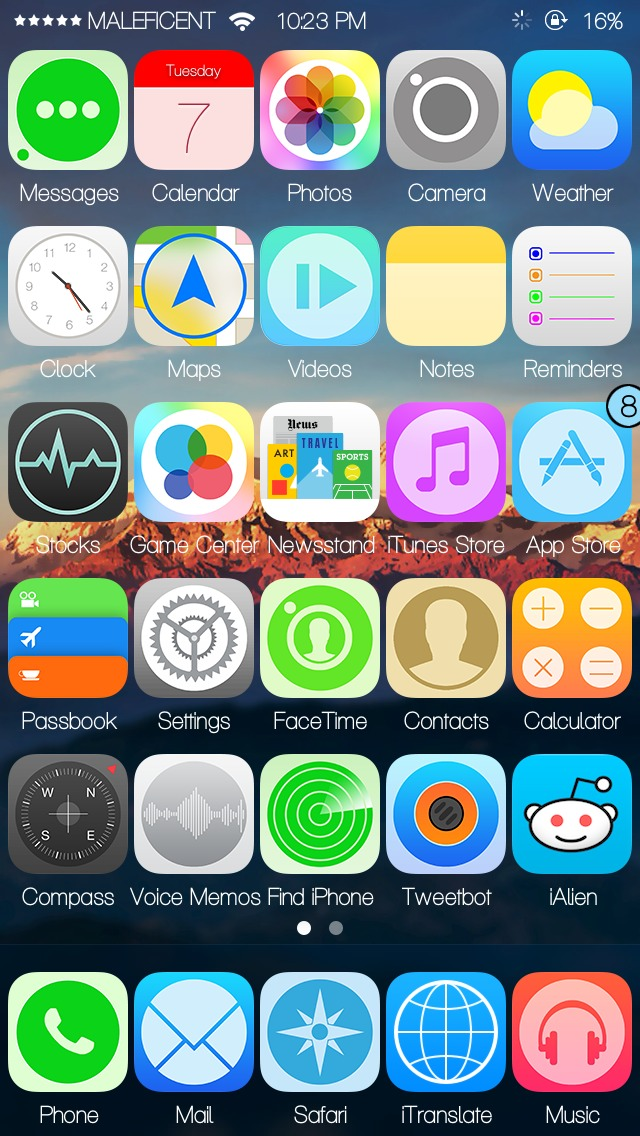How To Make Five Icons On Jailbroken iDevice