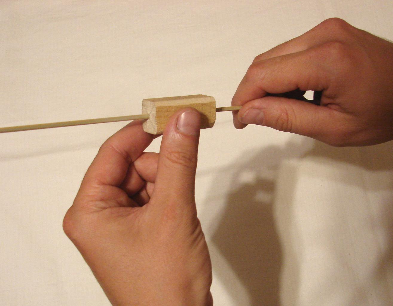 Airplane Counterweight Making