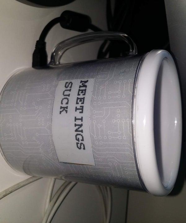 E-Ink Display Mug