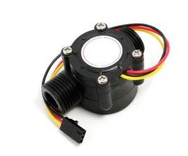 How to Use Water Flow Sensor - Arduino Tutorial