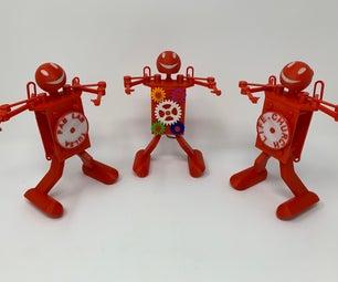 Fab Lab Tulsa Trophy and Dancing Robots