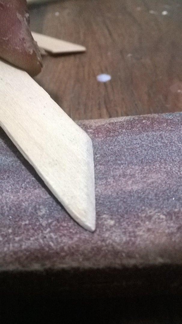 Preparing the Sticks
