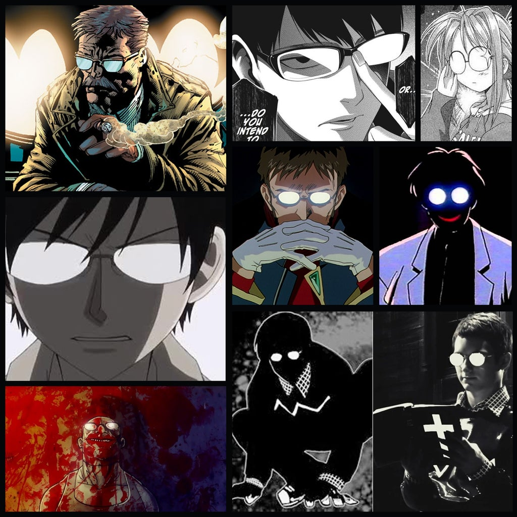 Glowing Comic Anime Character Glasses 4 Steps With Pictures Instructables