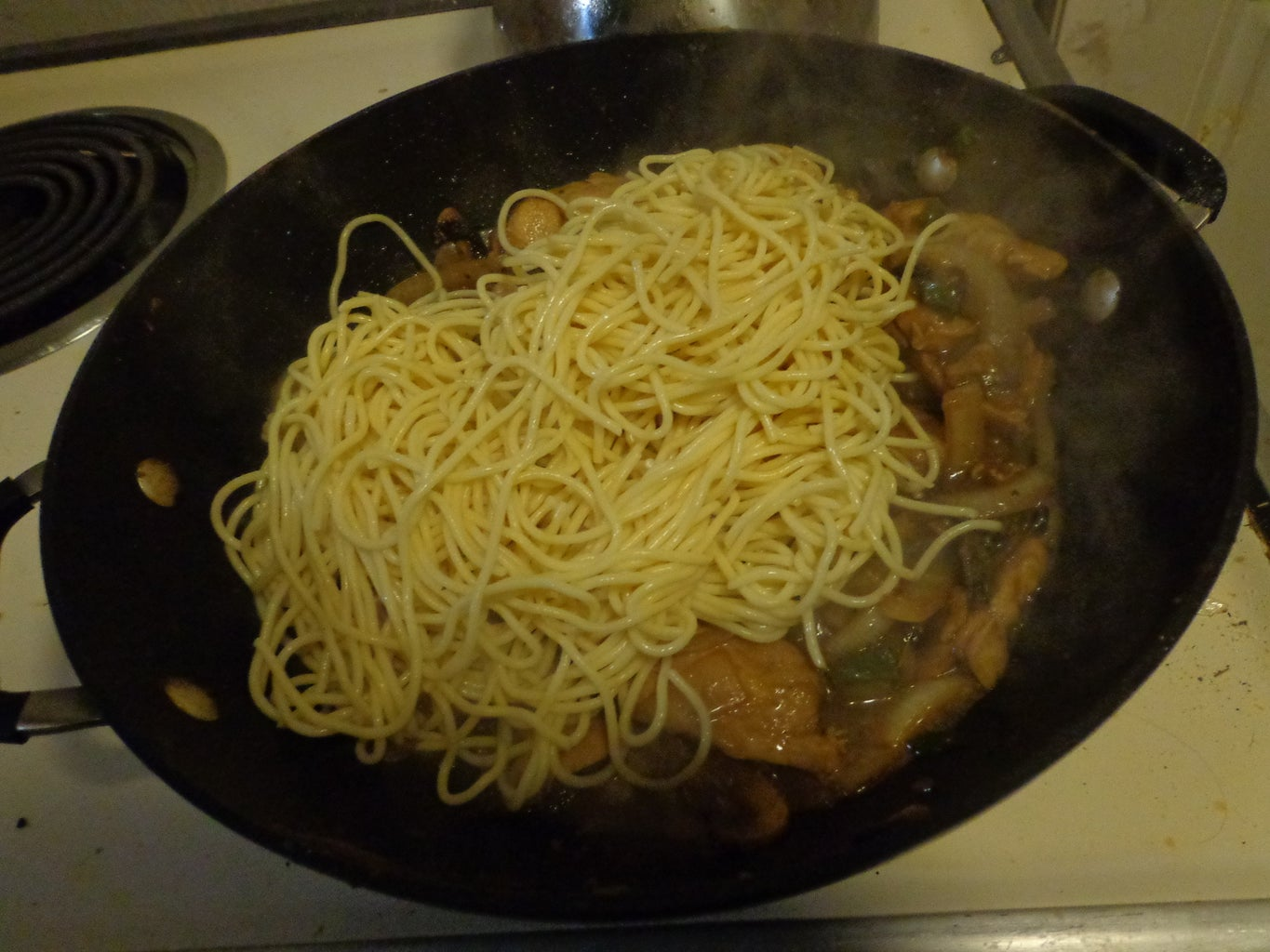 Add the Noodles