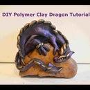 Tutorial de dragón de arcilla polimérica de bricolaje