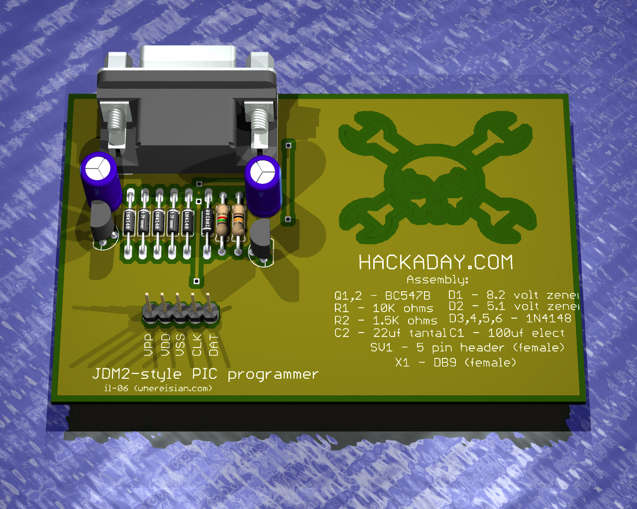 Business Card PIC Programmer