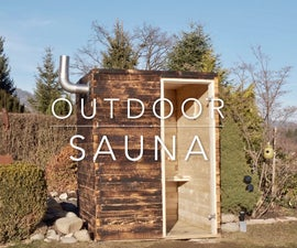 DIY Outdoor Sauna