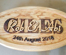 Layered Wood Plaque