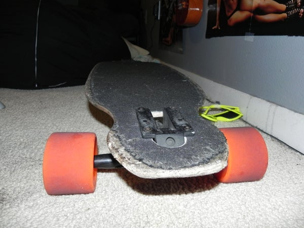 How to Cut Drop Through Truck Mounts on a Longboard