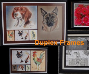 Duplex  Frames for Your Artwork